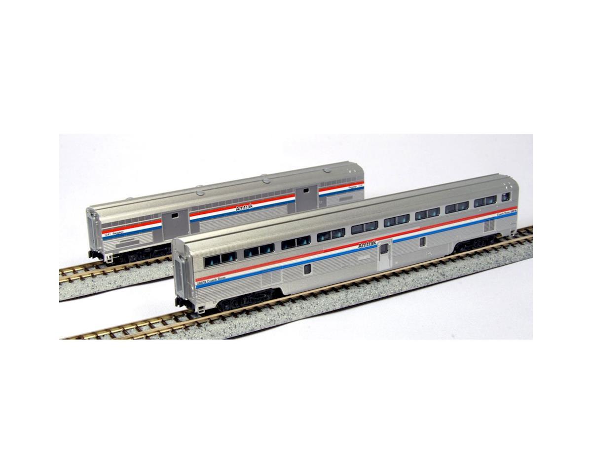 Kato N Superliner Set, Amtrak/Phase III C (2)