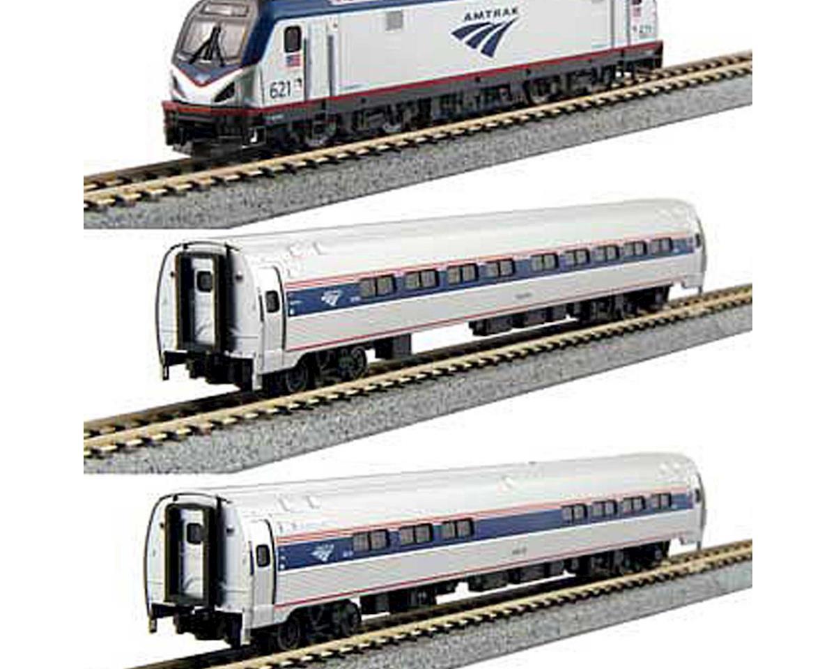 Kato N ACS-64 w/DCC & Amfleet I Bookcase,Amtrak/PhVI(5)