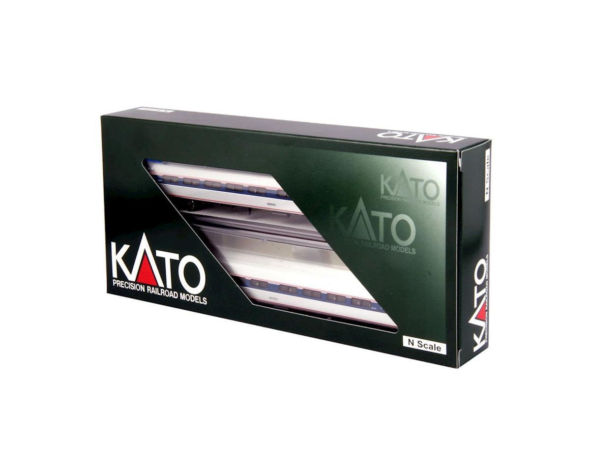 Kato N Amfleet Add-On, Amtrak/Ph VI Set A (2)