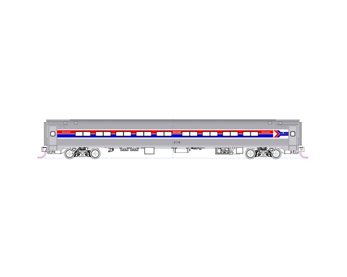 Kato N Amfleet Coach & Cafe, Amtrak/Ph I Set B (2)