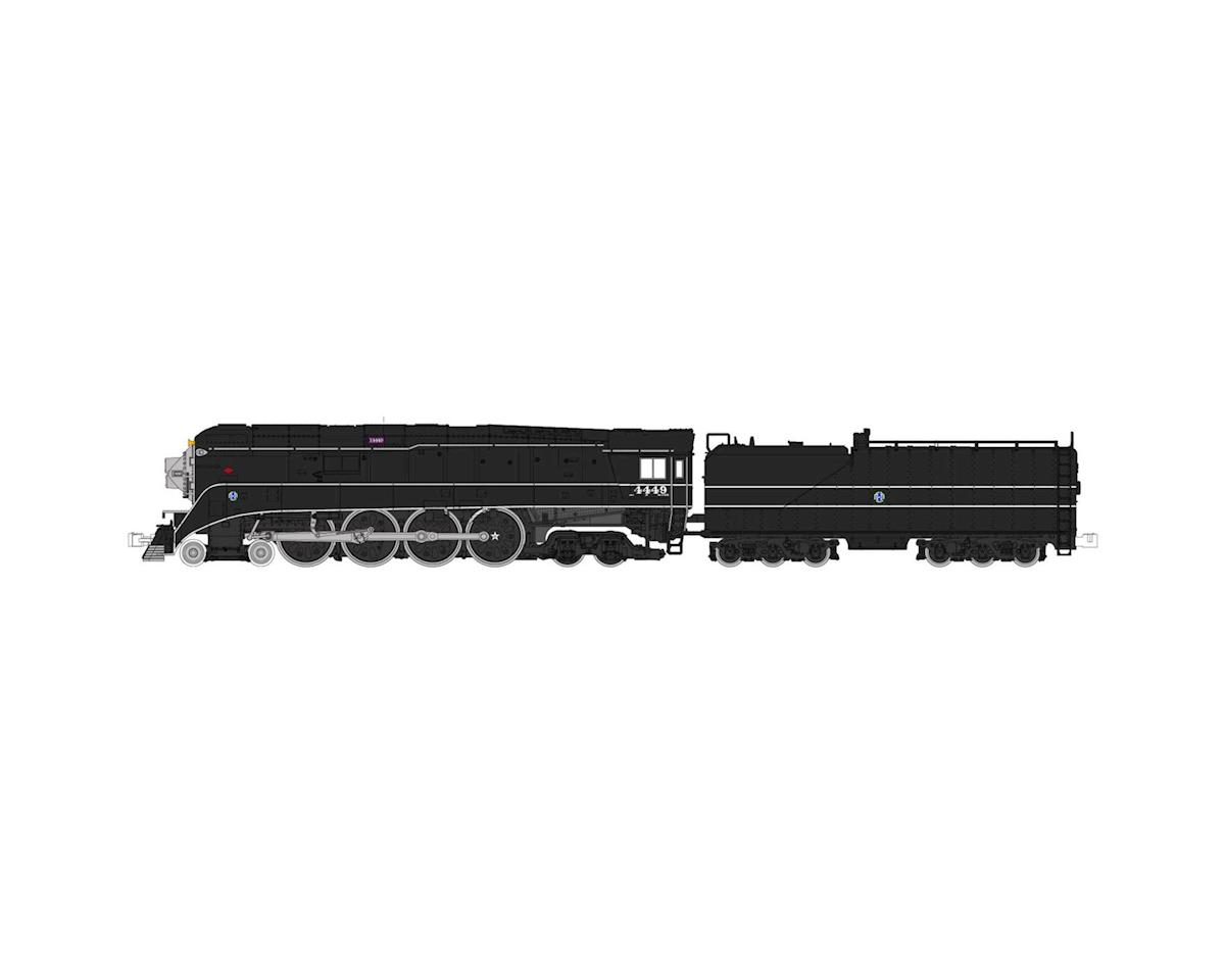 Kato N 4-8-4 GS-4, BNSF/Black Excursion #4449