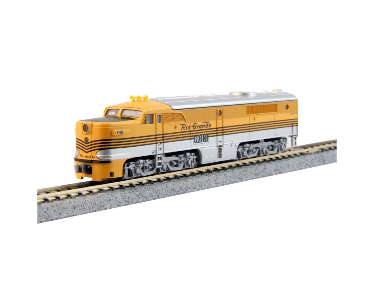 Kato N PA1 w/DCC, D&RGW/4 Stripe #6013