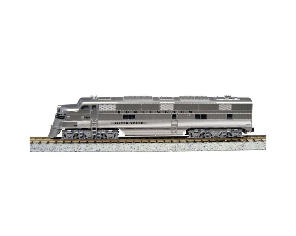 Kato N E5A, CB&Q/Silver Speed #9910A