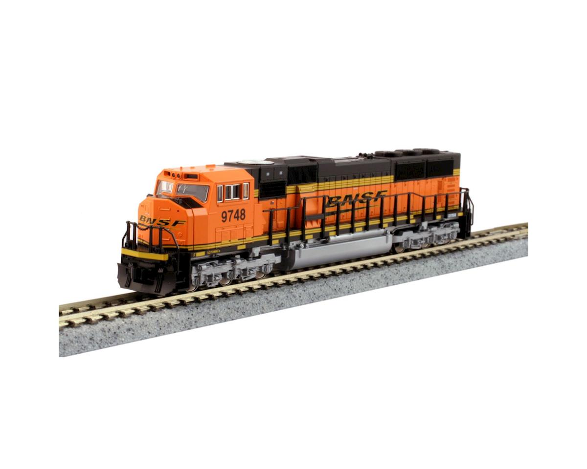 Kato N SD70MAC, BNSF/Wedge #9748
