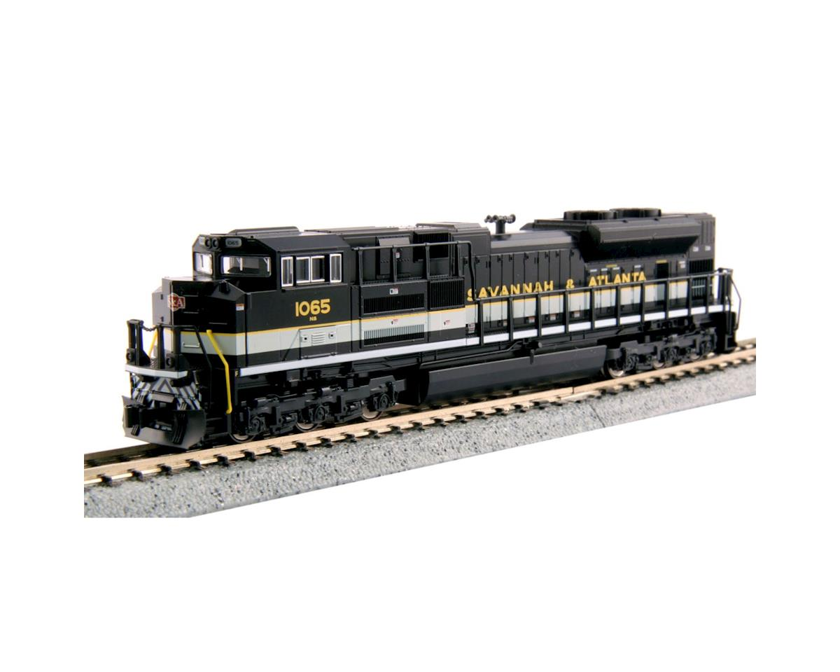 Kato N SD70ACe, NS/Savannah & Atlanta Heritage #1065