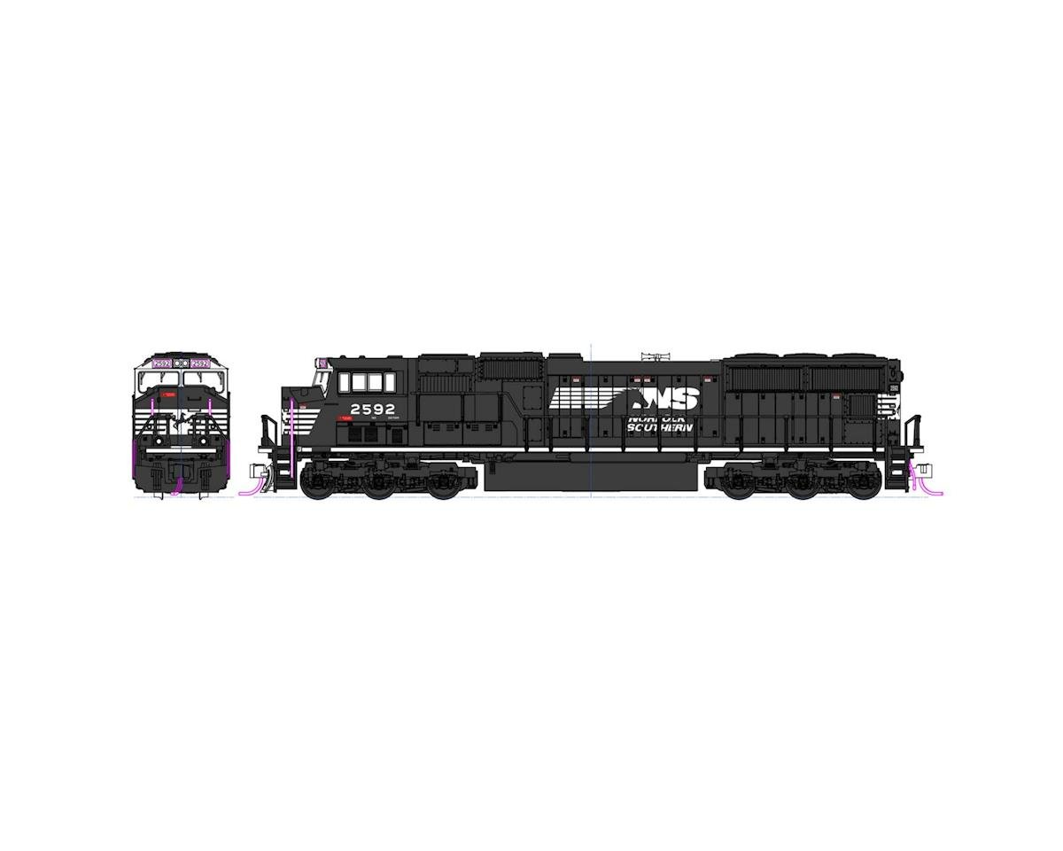 N SD70M, NS #2592 by Kato