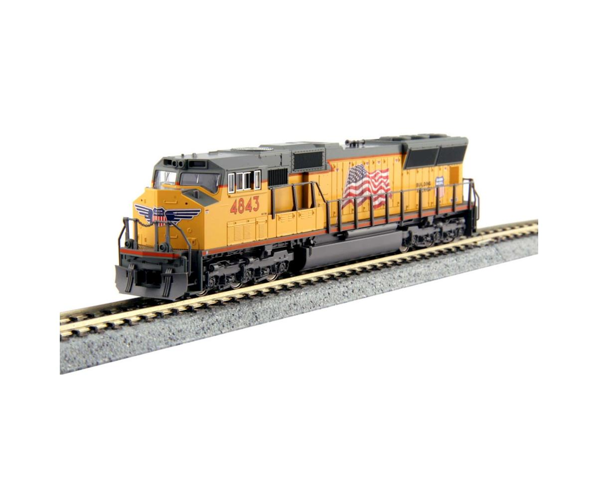 N SD70M, UP #4843 by Kato