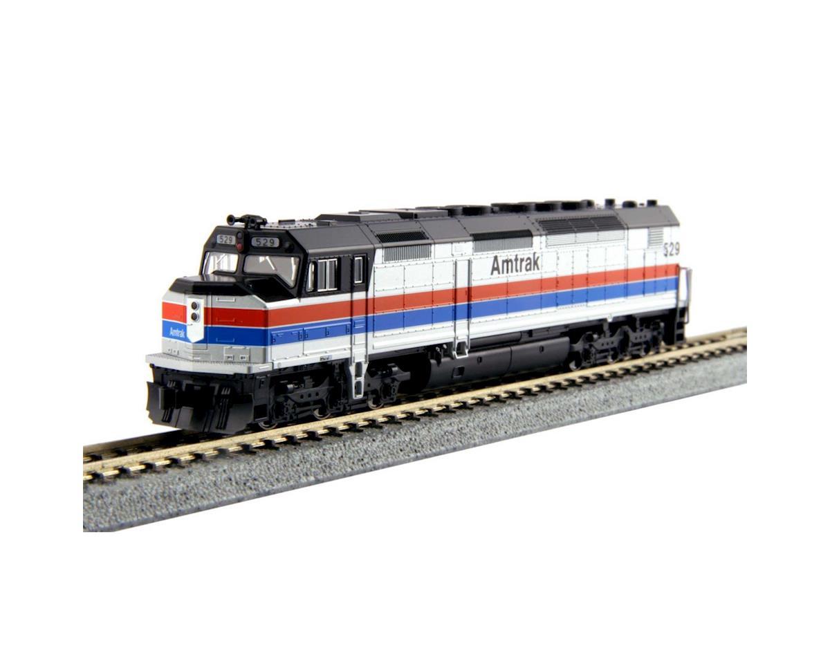 Kato N EMD SDP40F Type 1 w/DCC, Amtrak Phase II #529