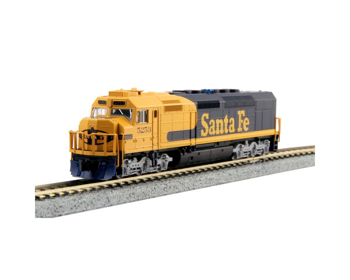 Kato N EMD SDP40F Type 4a w/DCC, Santa Fe Freight #5253