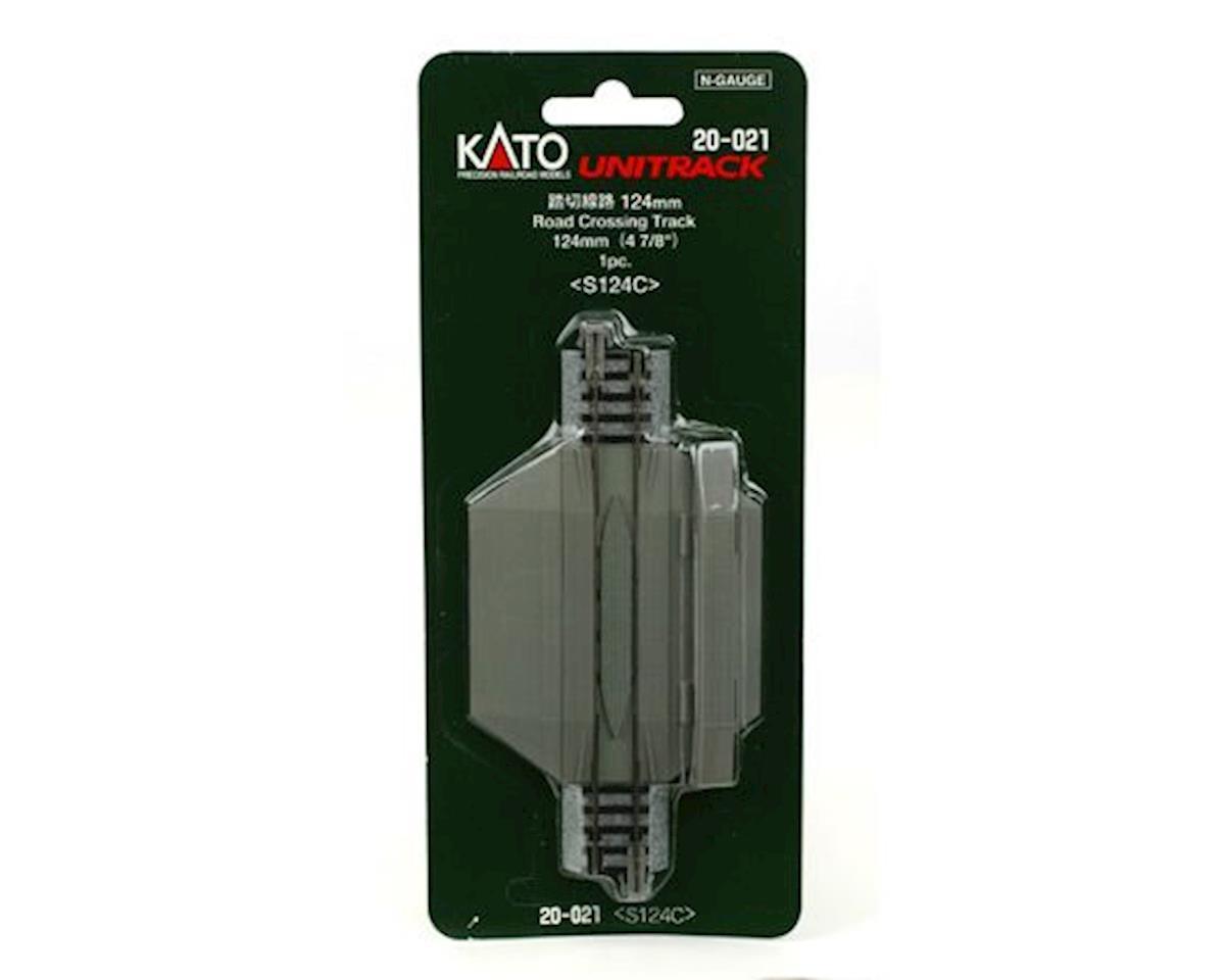 "Kato N 124mm 4-7/8"" Straight Road Crossing"