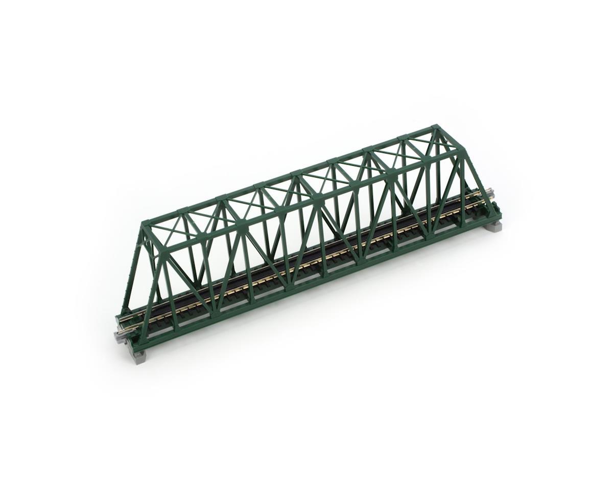 "Kato N 248mm 9-3/4"" Truss Bridge, Green"