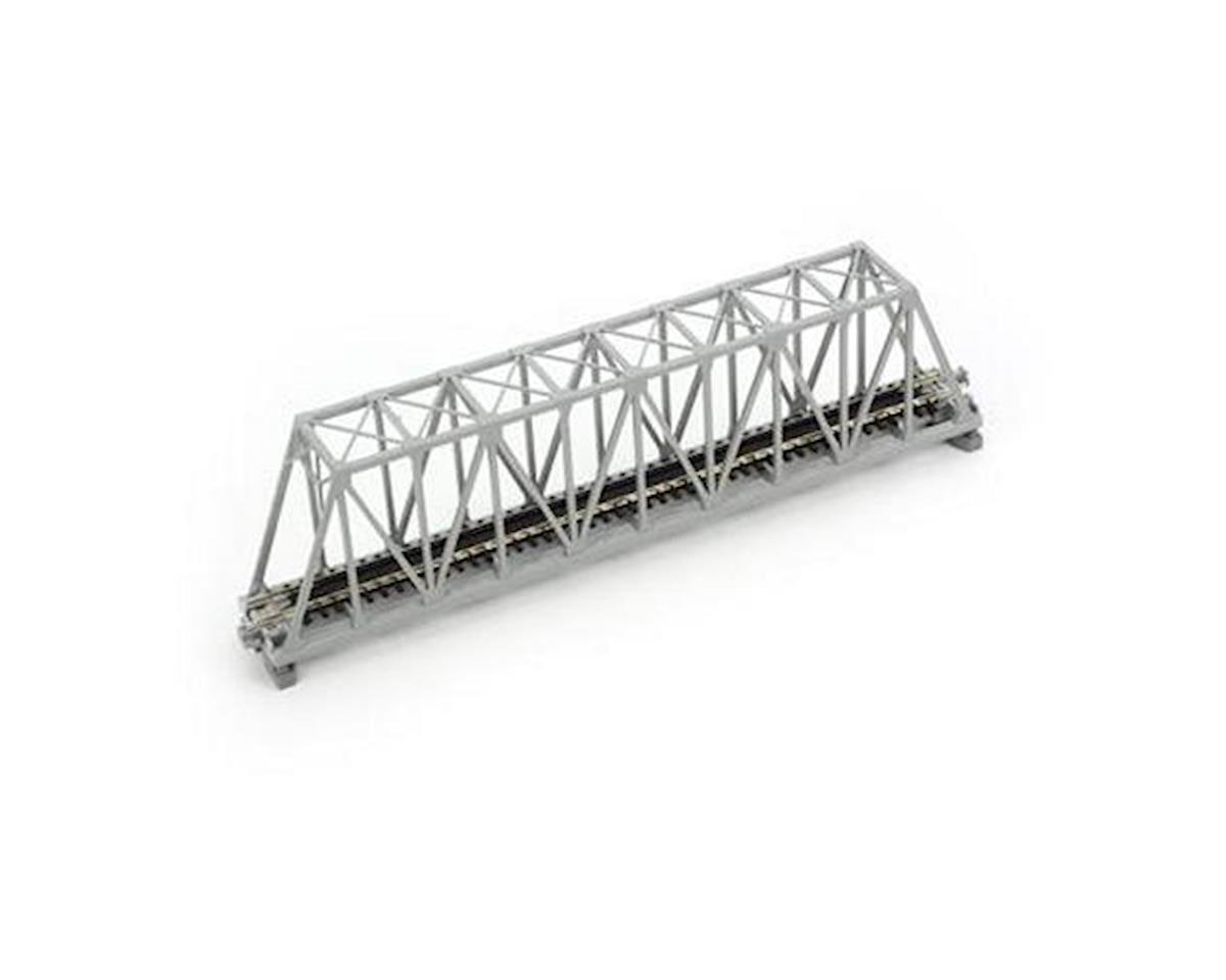 "Kato N 248mm 9-3/4"" Truss Bridge, Gray"