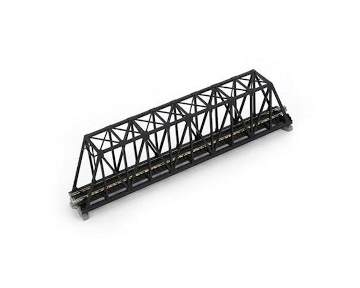 "Kato N 248mm 9-3/4"" Truss Bridge, Black"