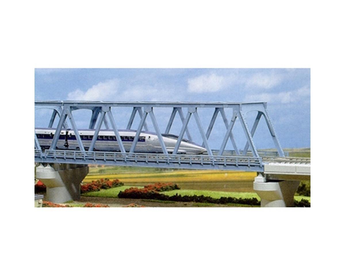 "Kato N 248mm 9-3/4"" Double Track Truss Bridge, Lt Blue"