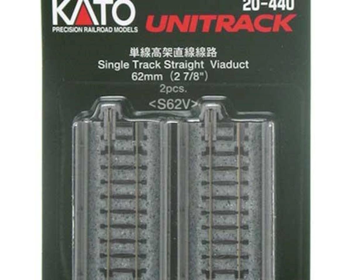 "Kato N 62mm 2-7/16"" Straight Viaduct (2)"