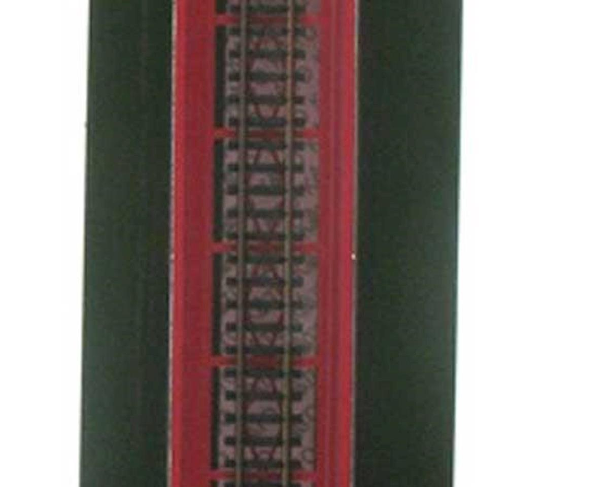 "Kato N 186mm 7-5/16"" Plate Girder Bridge, Red"