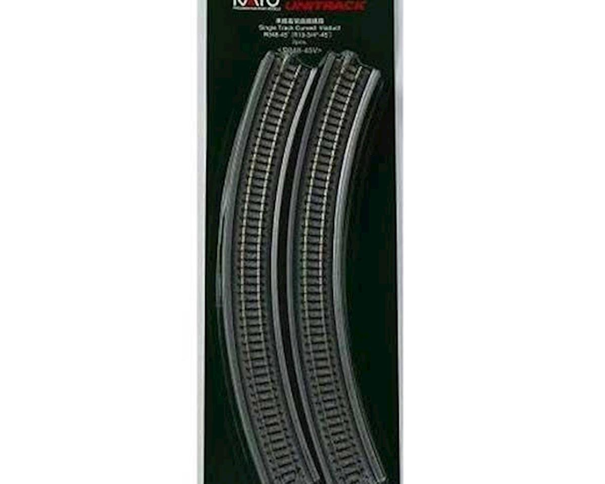 "Kato N 348mm 13-3/4"" Radius 45-Degree Viaduct (2)"