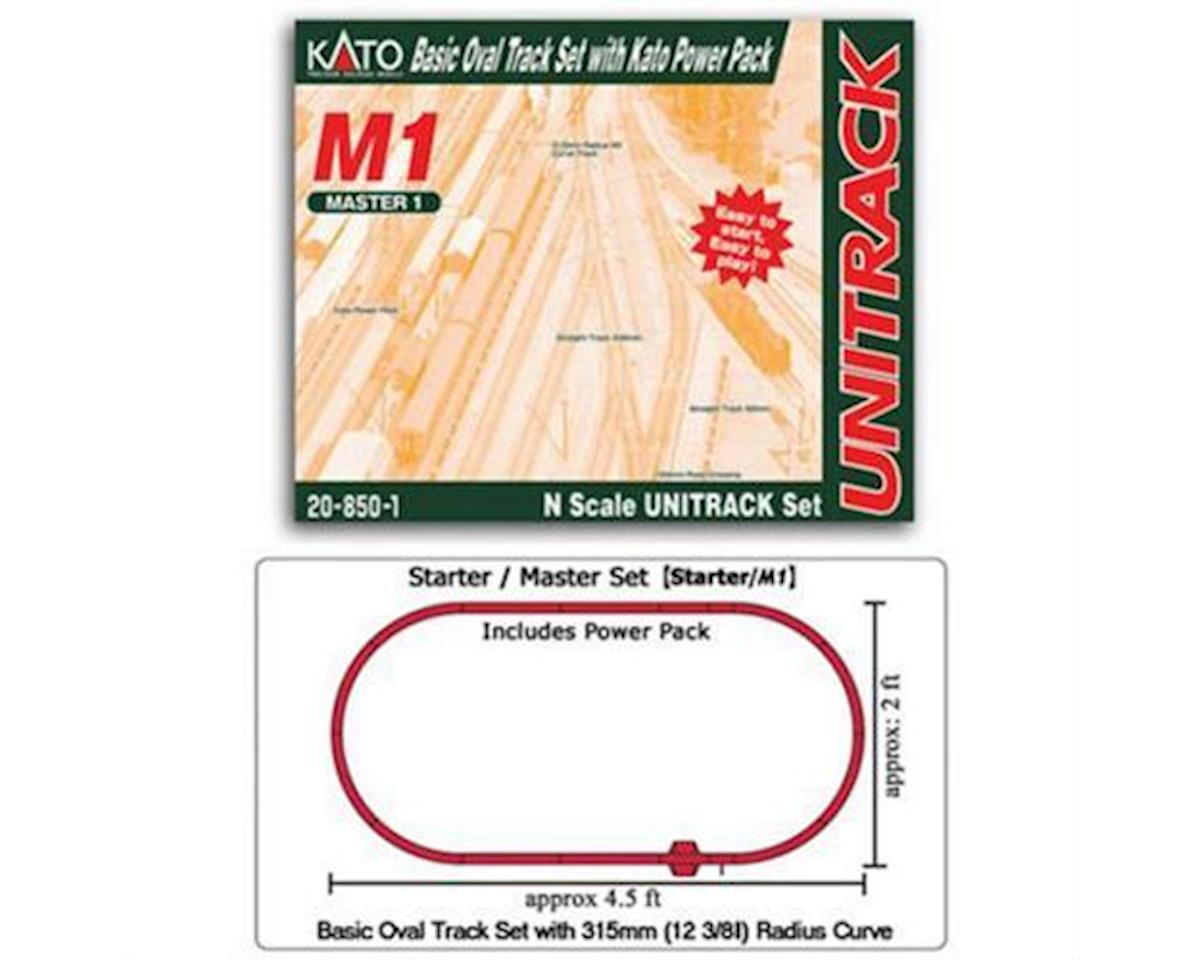 N M1 Basic Oval Track Set w/Power Pack
