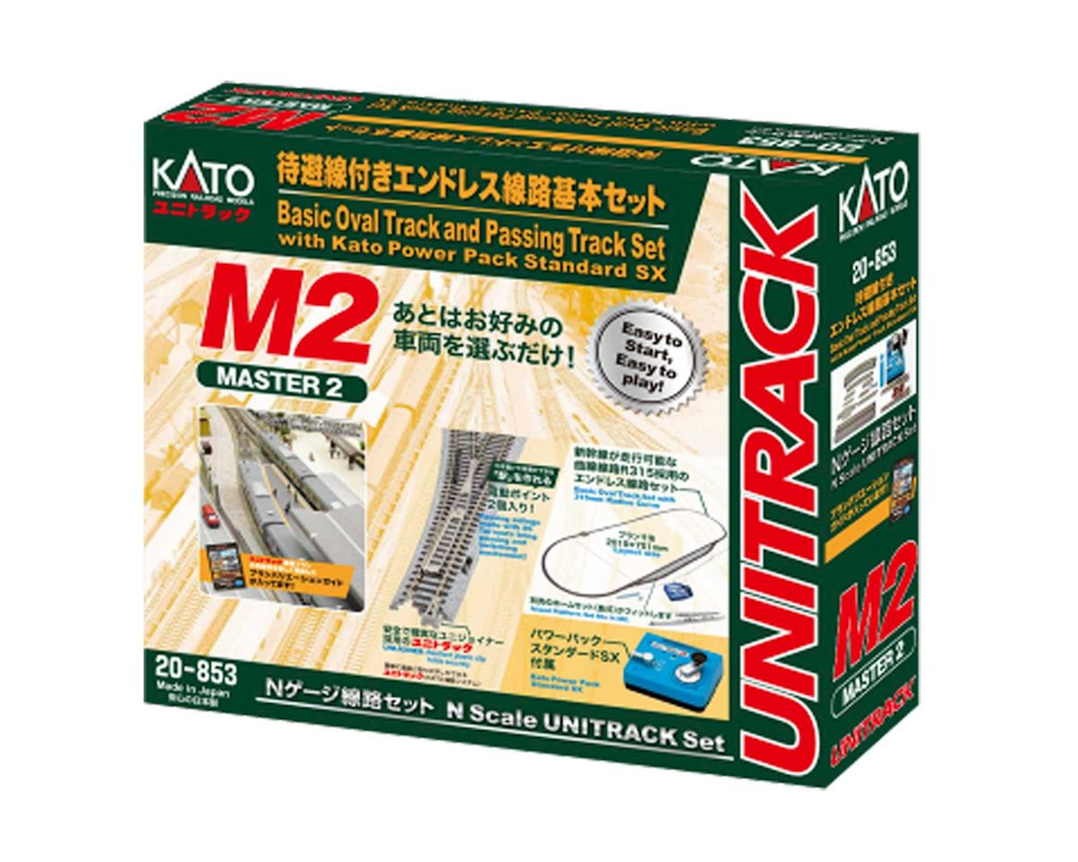Kato N M2 Basic Oval and Siding Set w/Power Pack