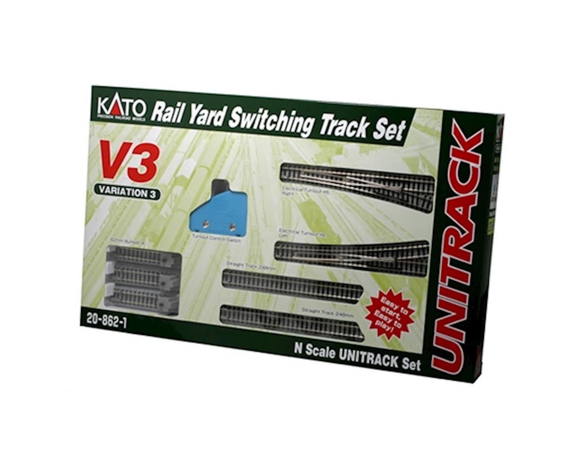 Kato N V3 Rail Yard Switching Set
