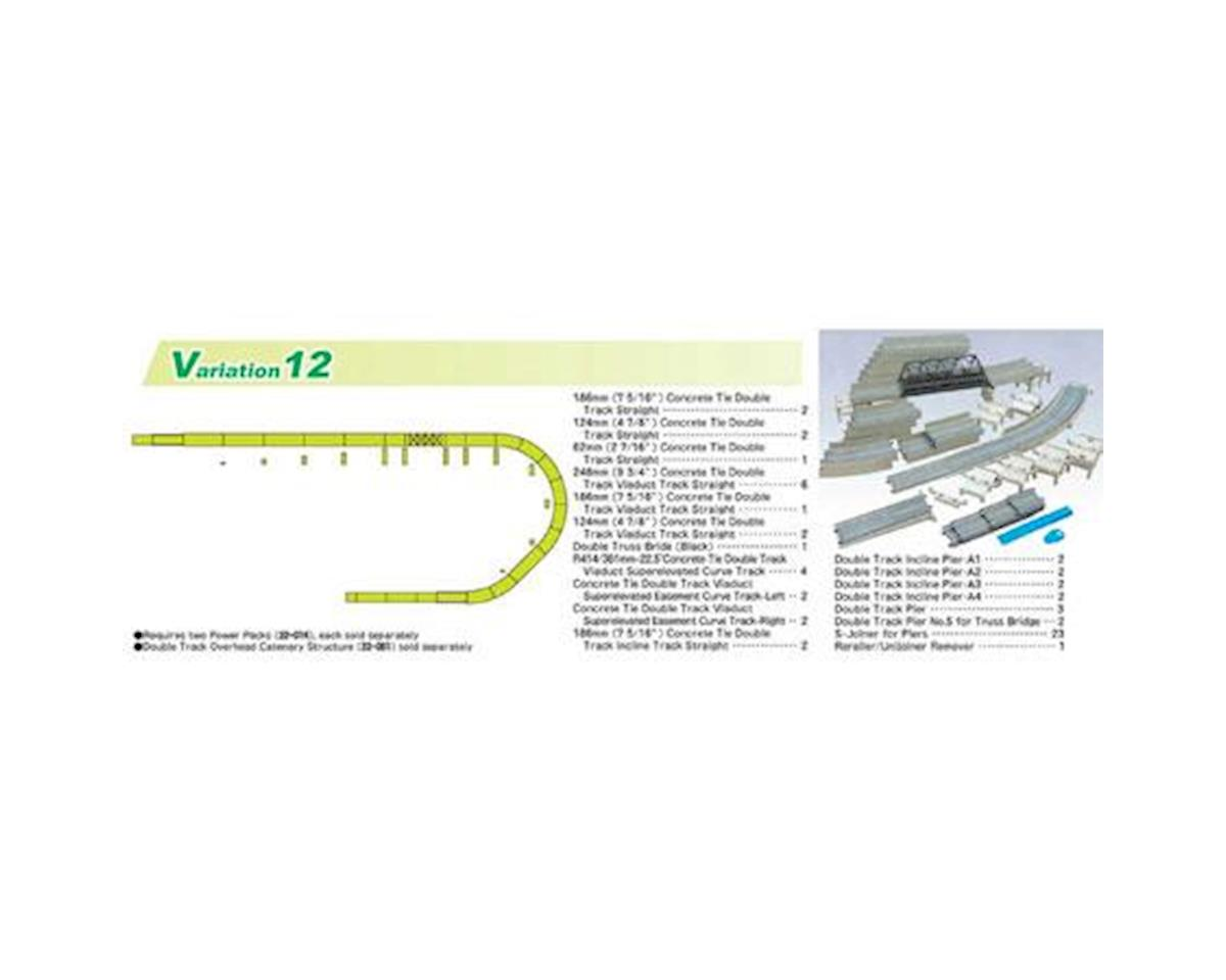 Kato N V12 Double Track Viaduct Set