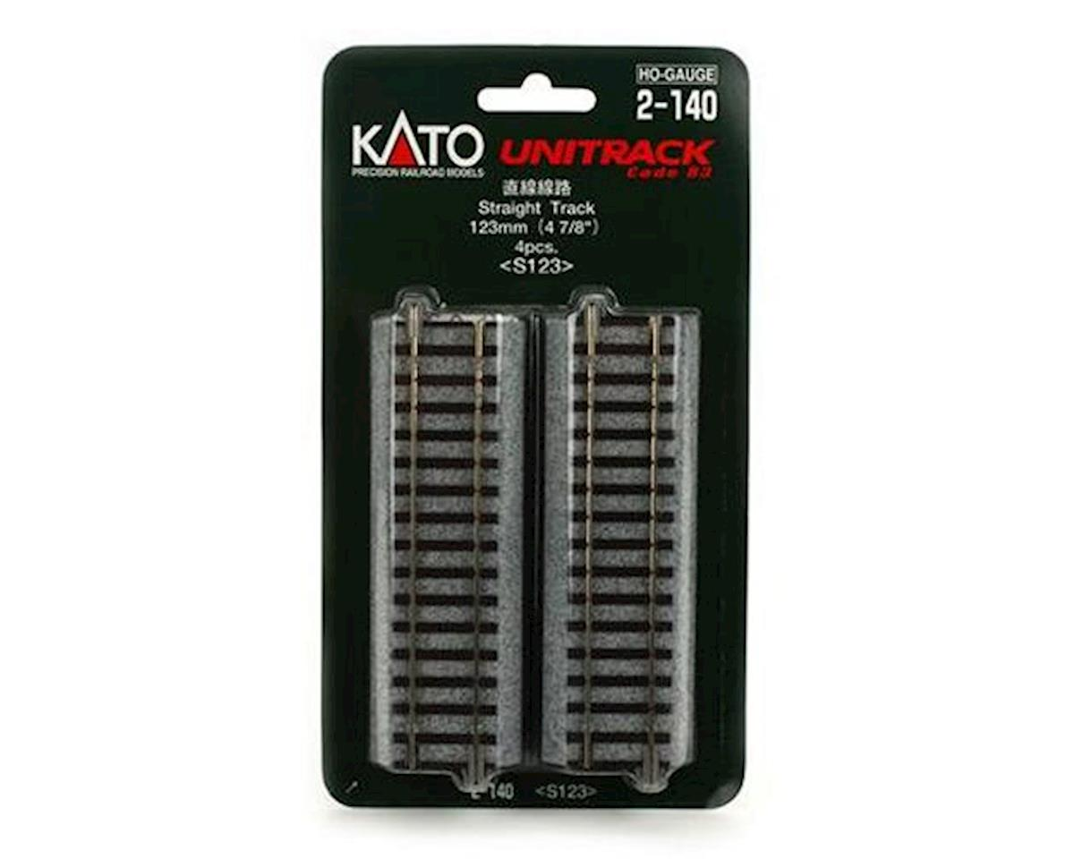 "Kato HO 123mm 4-7/8"" Straight (4)"