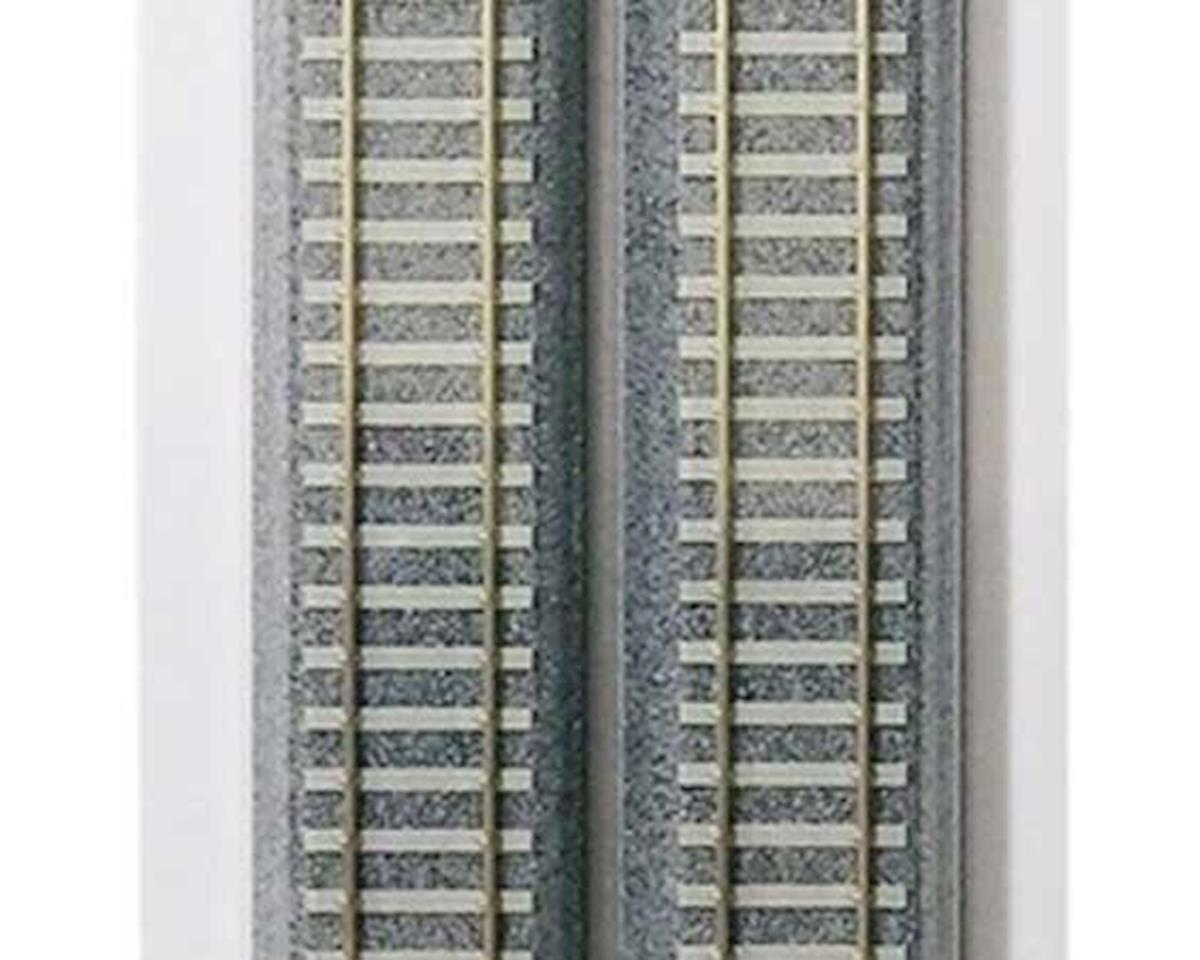 "HO 369mm 14-1/2"" Track Straight, Concrete Ties (4) by Kato"