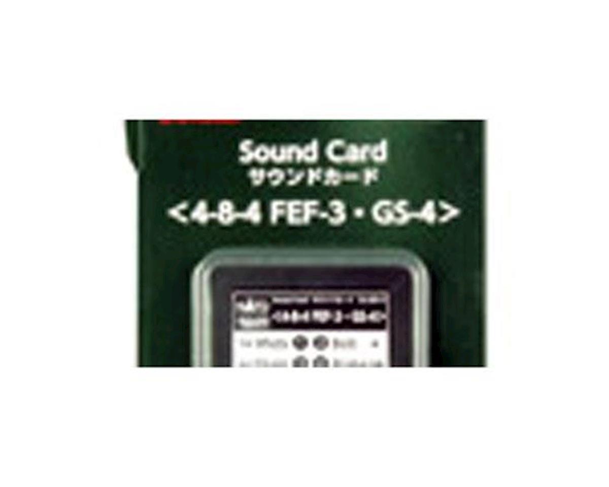 Kato FEF3 GS4 HVYSTM SOUND CRD