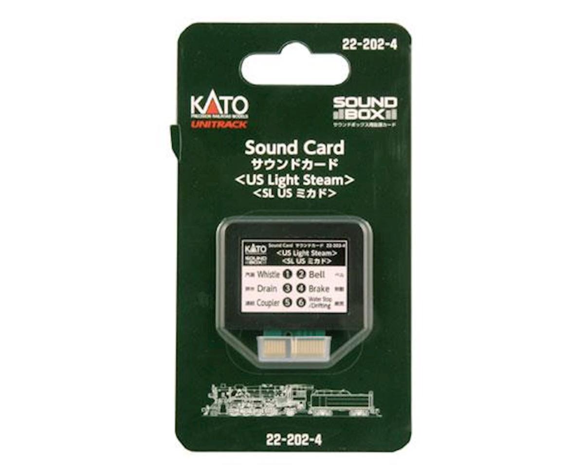 Kato Sound Card, US Light Steam