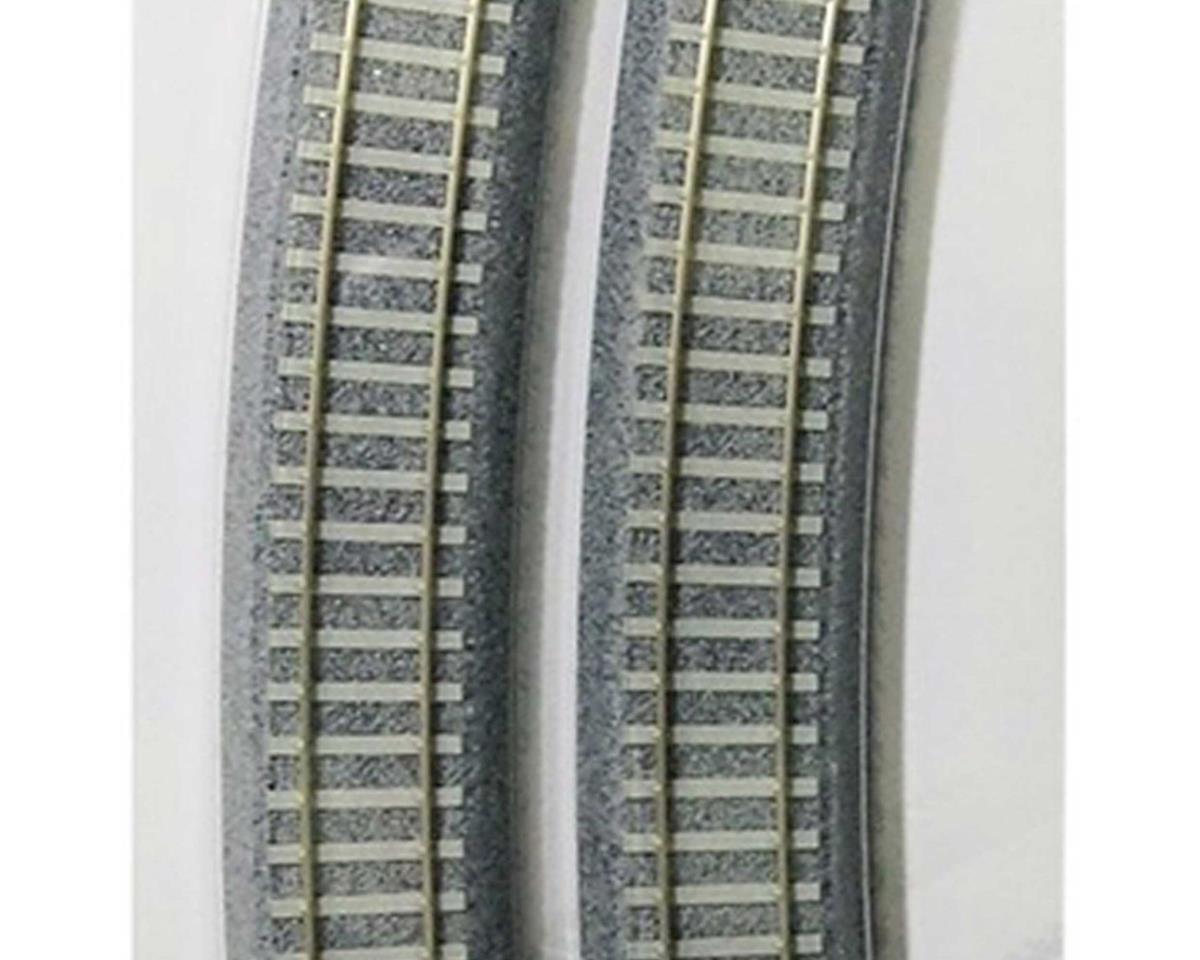 """Kato HO 790mm 31-1/8"""" 22.5 Degree Track Easement (2)"""
