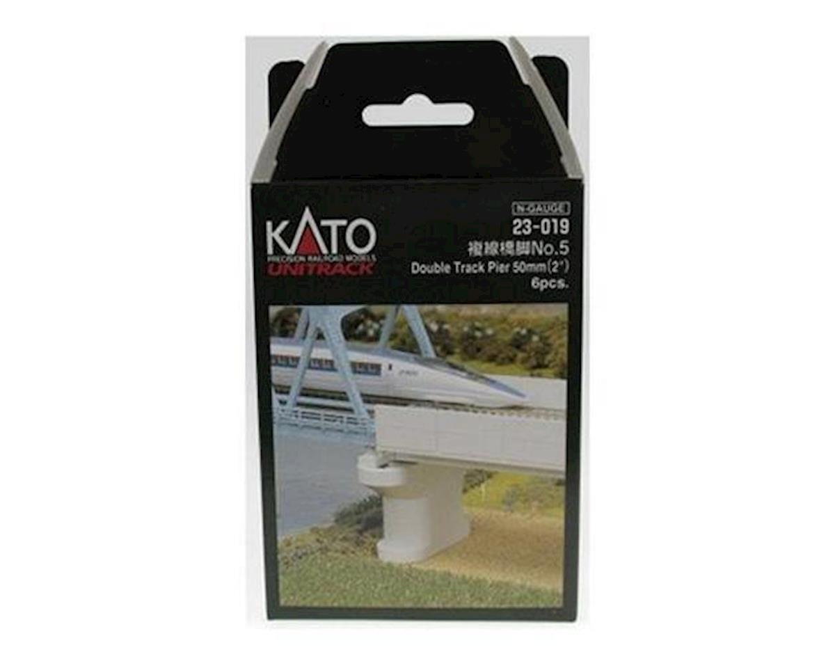 Kato N Double Pier, Poured Concrete