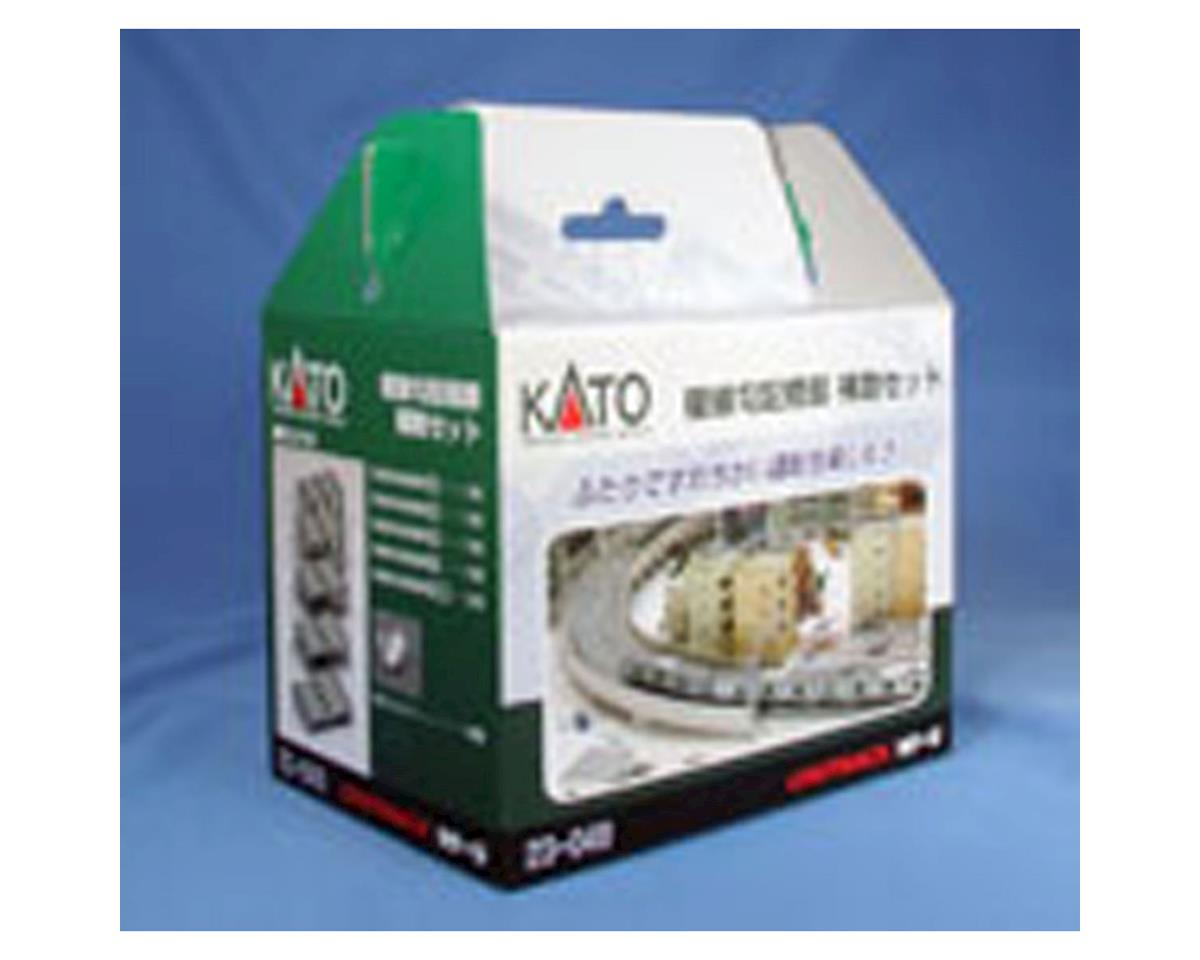 Kato N Double Track Incline Auxiliary Pier Set