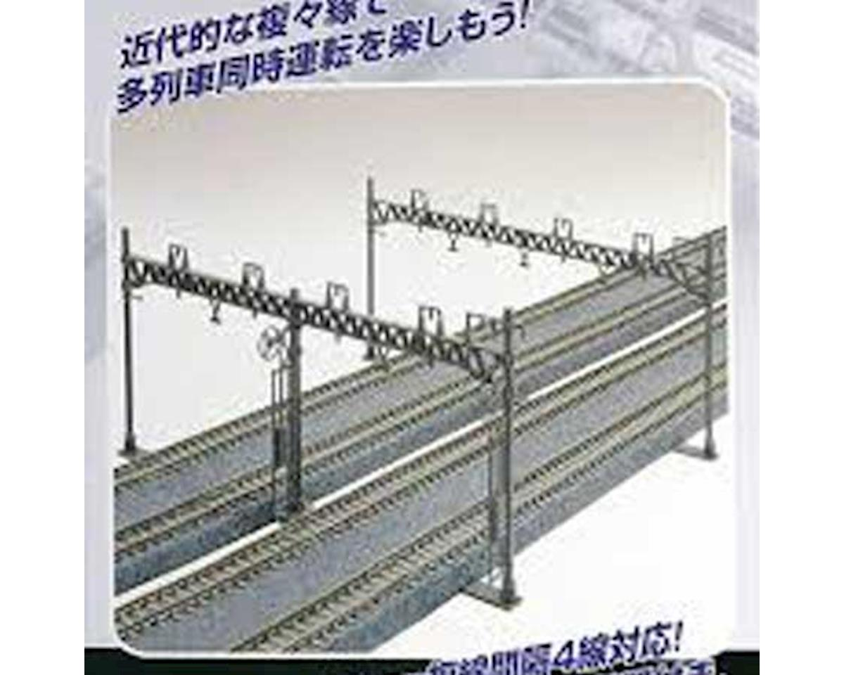Kato N Catenary Poles, Four Track (10)
