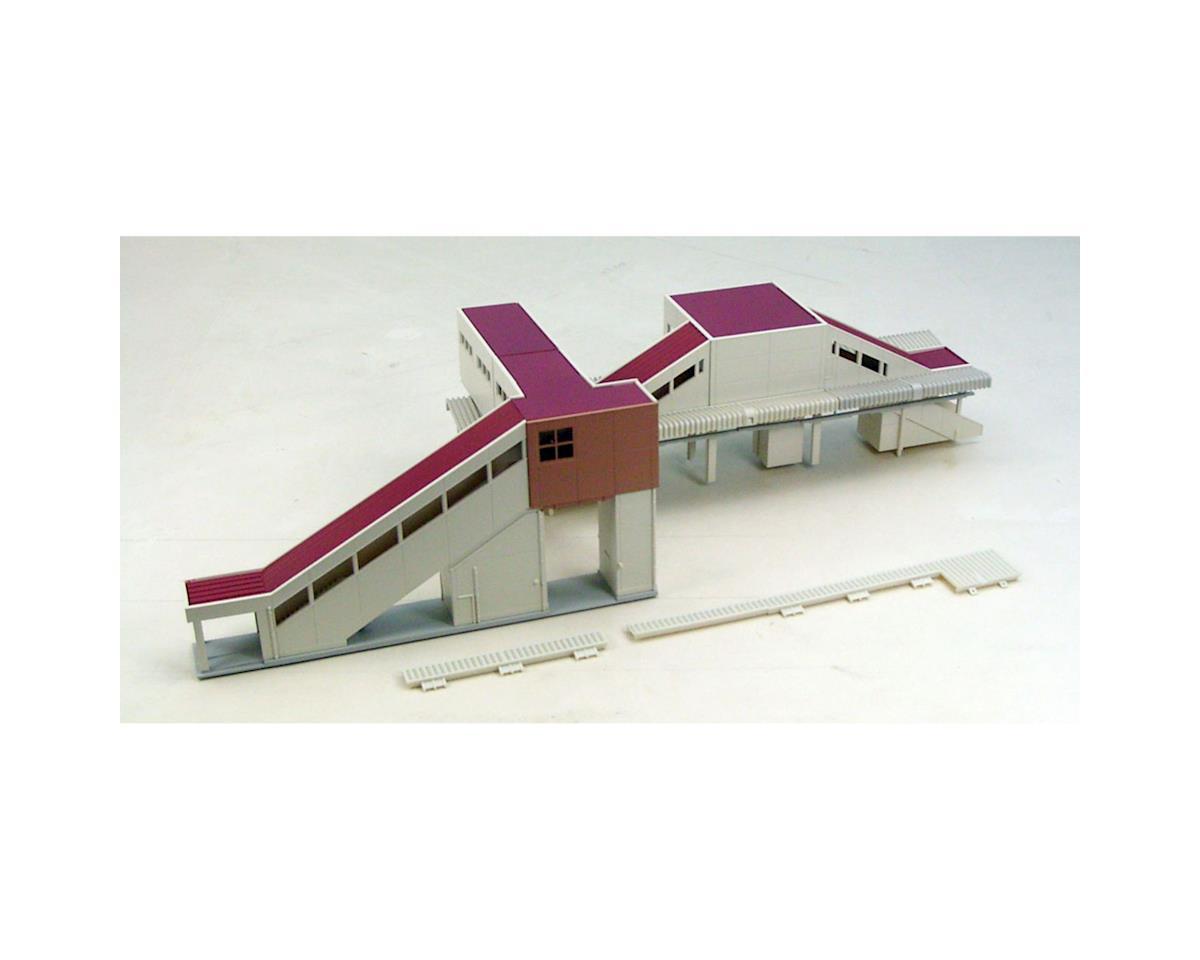 N Overhead Transit Station Expansion Set by Kato