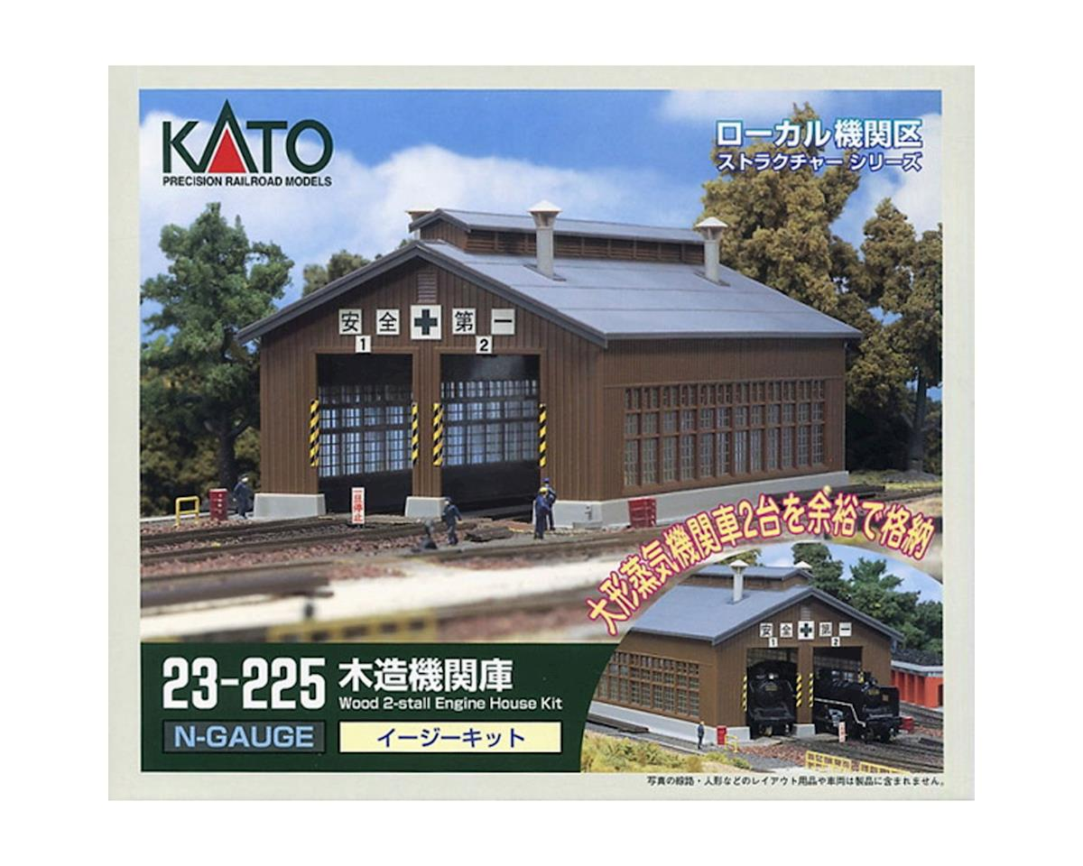 Kato N 2-Stall Engine House