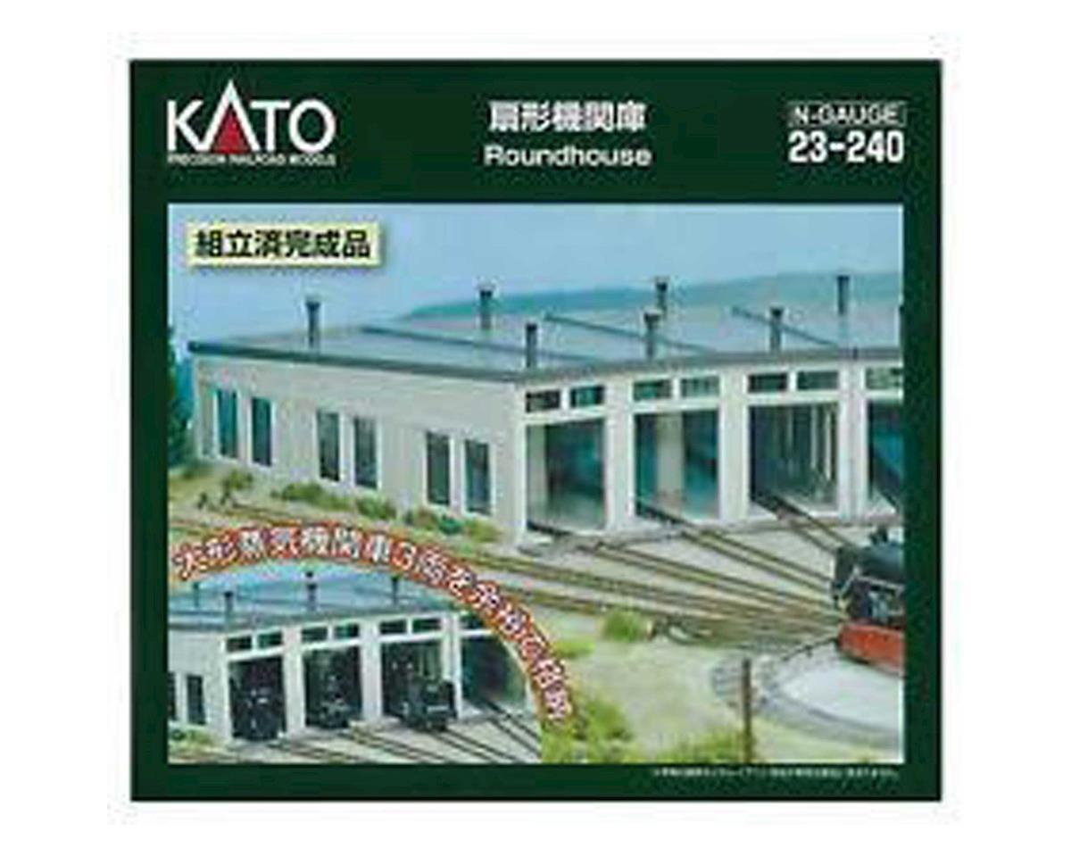 Kato N 3-Stall Roundhouse