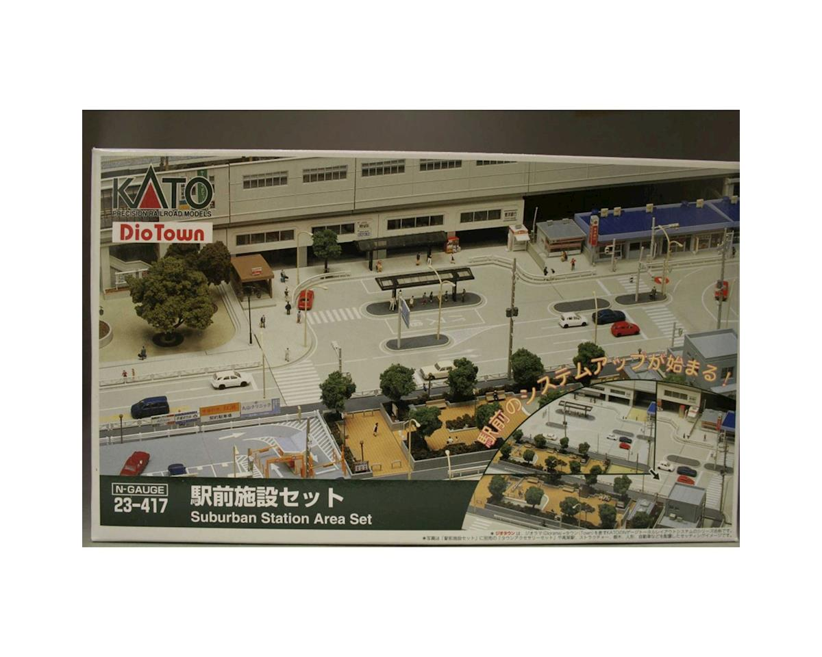 Kato N Suburban Station Set