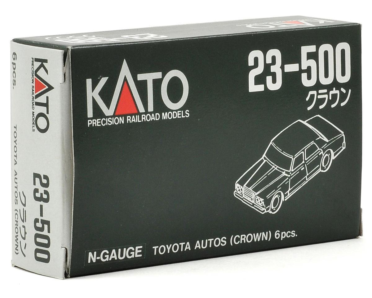 KATO N-Scale 80's Era Toyota Automobiles (6) by Kato