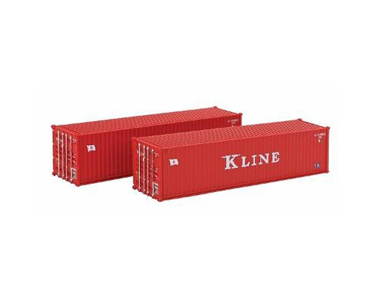 N 40' Container, K-Line (2) by Kato