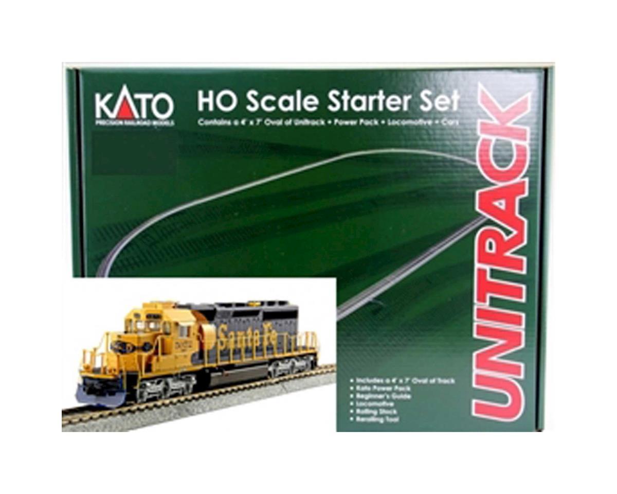 Kato HO SD40-2 Mid Starter Set, SF w/MAXI-IV