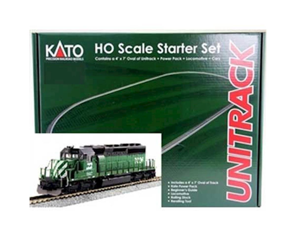 Kato HO SD40-2 Mid Starter Set, BN w/MAXI-IV
