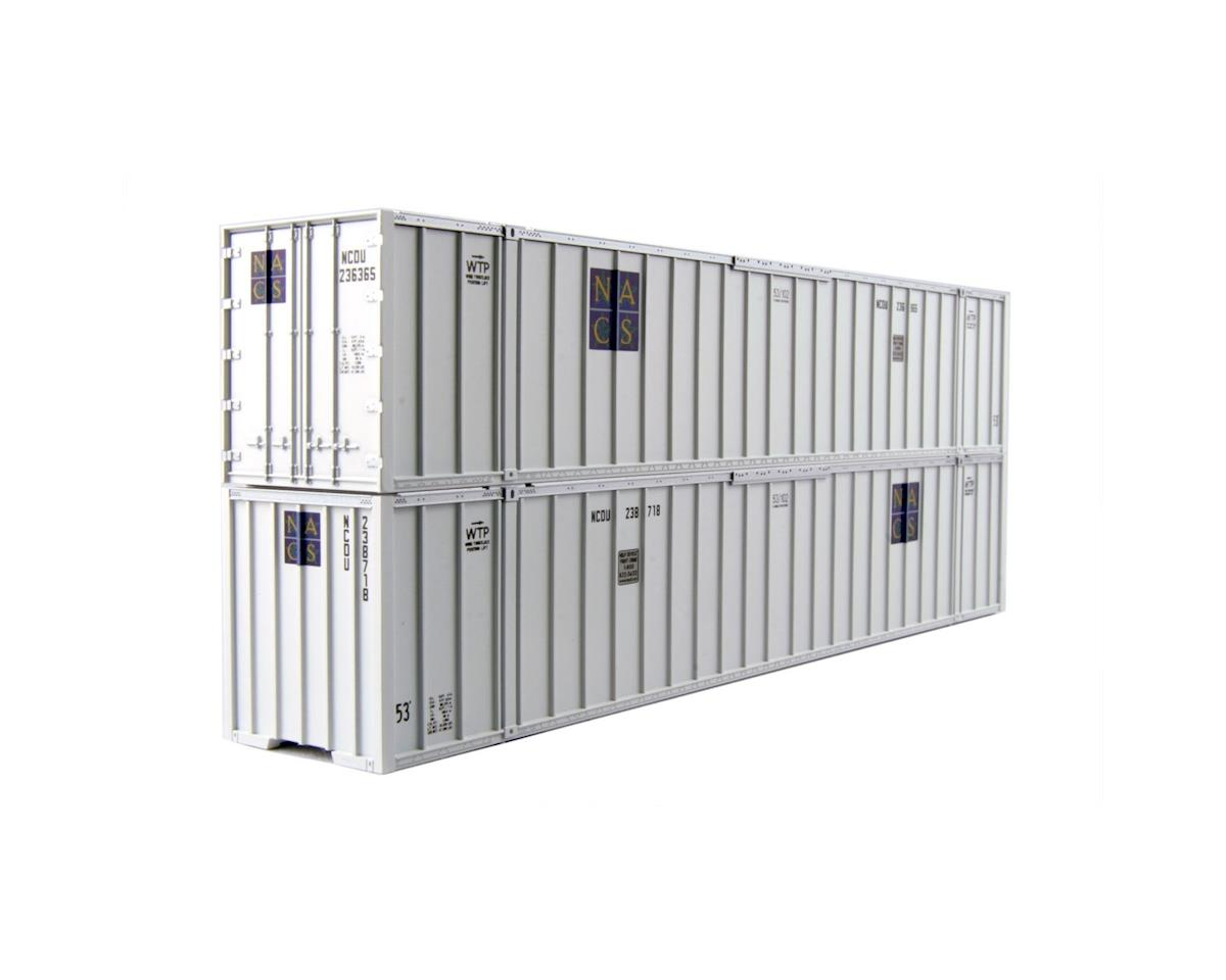 Kato HO 53' Container, NACS #236365/#238718 (2)