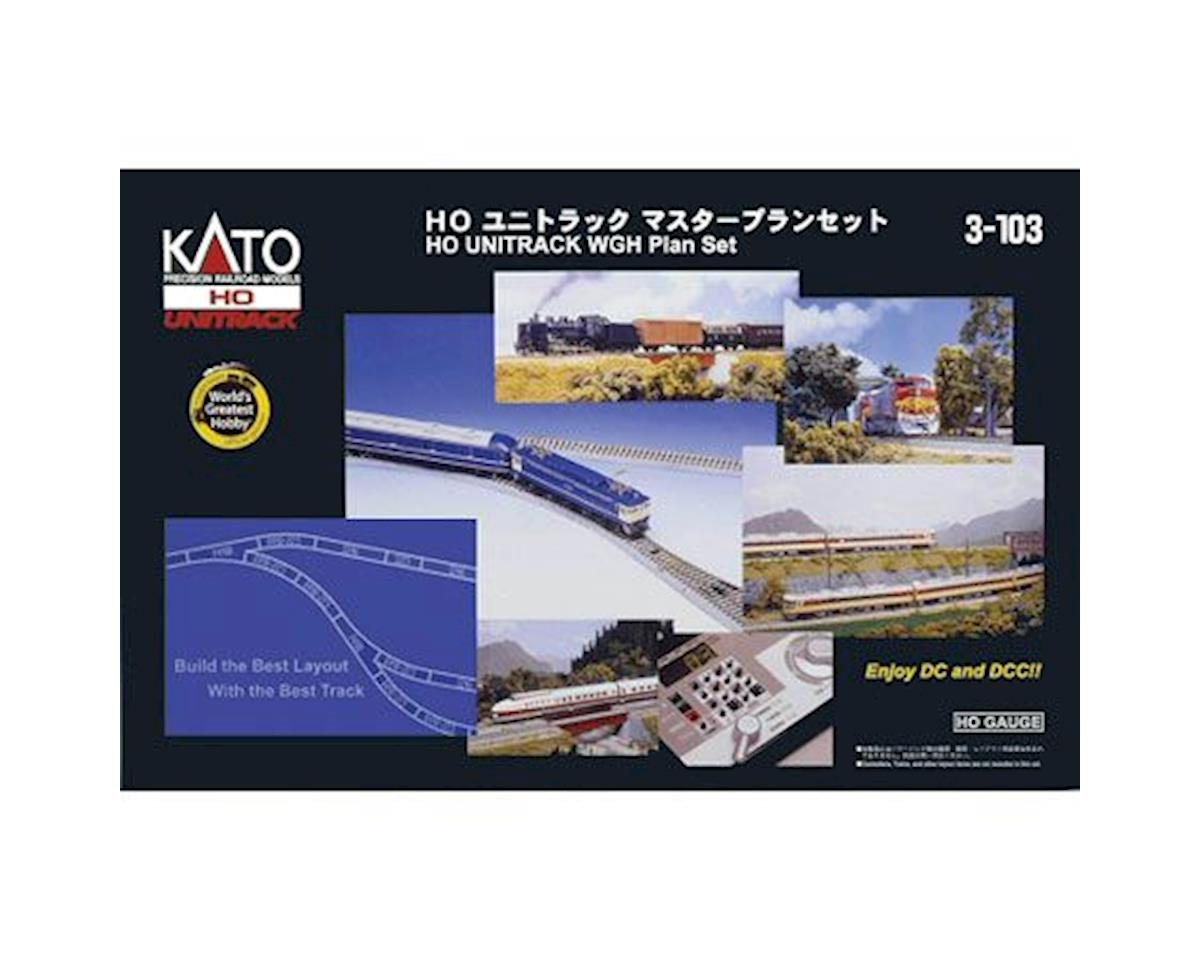 Kato HO World's Greatest Hobby Track Set