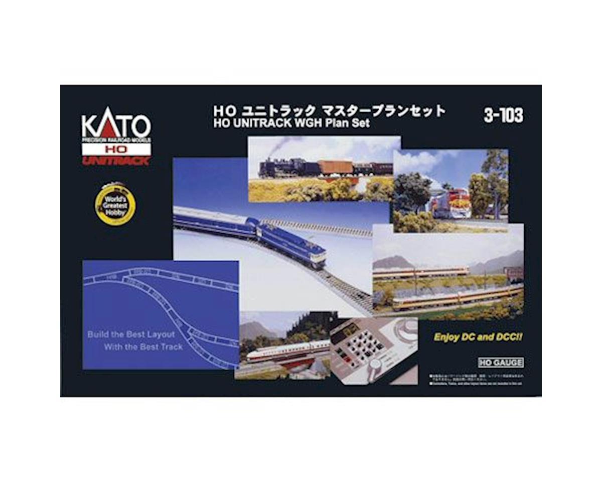 Kato HO World's Greatest Hobby Track Set