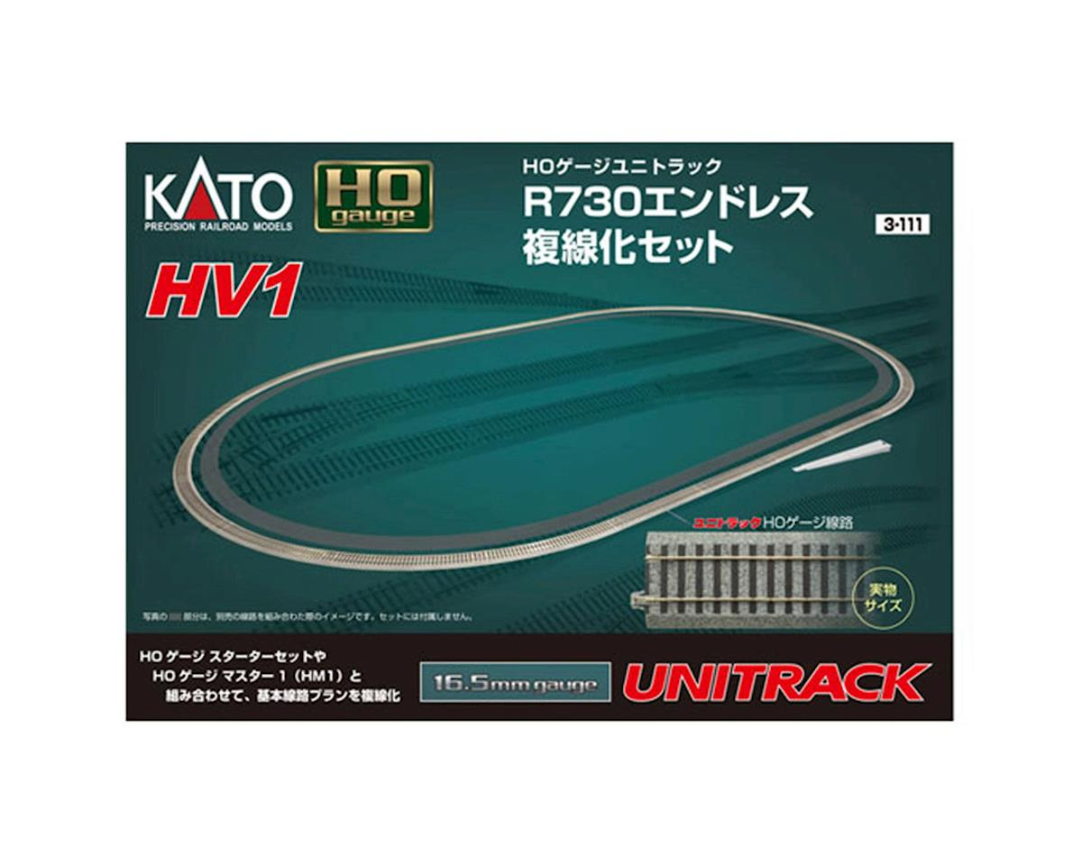 HO HV1 Outer Track Oval Set