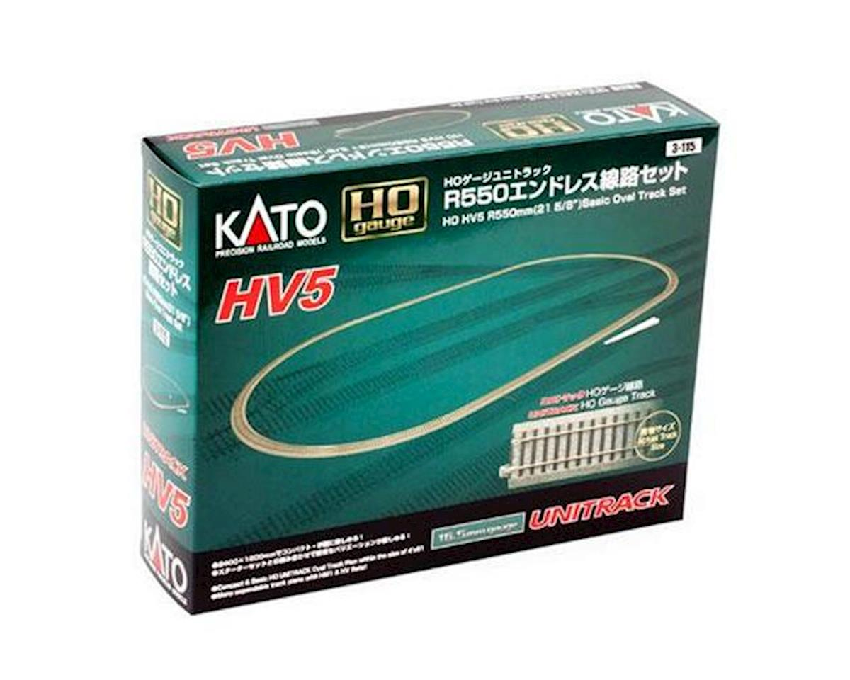 HO HV5 Basic Oval Track Set