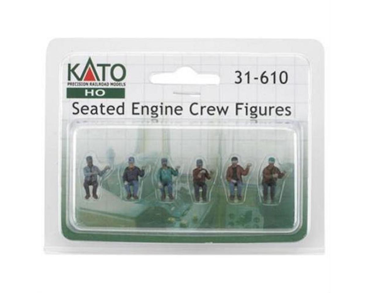 Kato HO Seated Engine Crew (6)