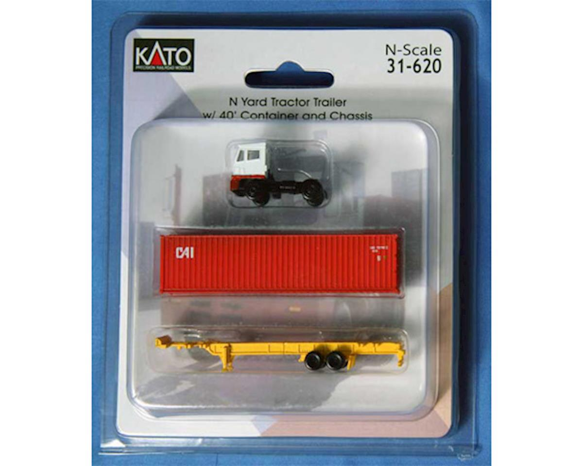 Kato N Yard Tractor w/40' Container, CAI