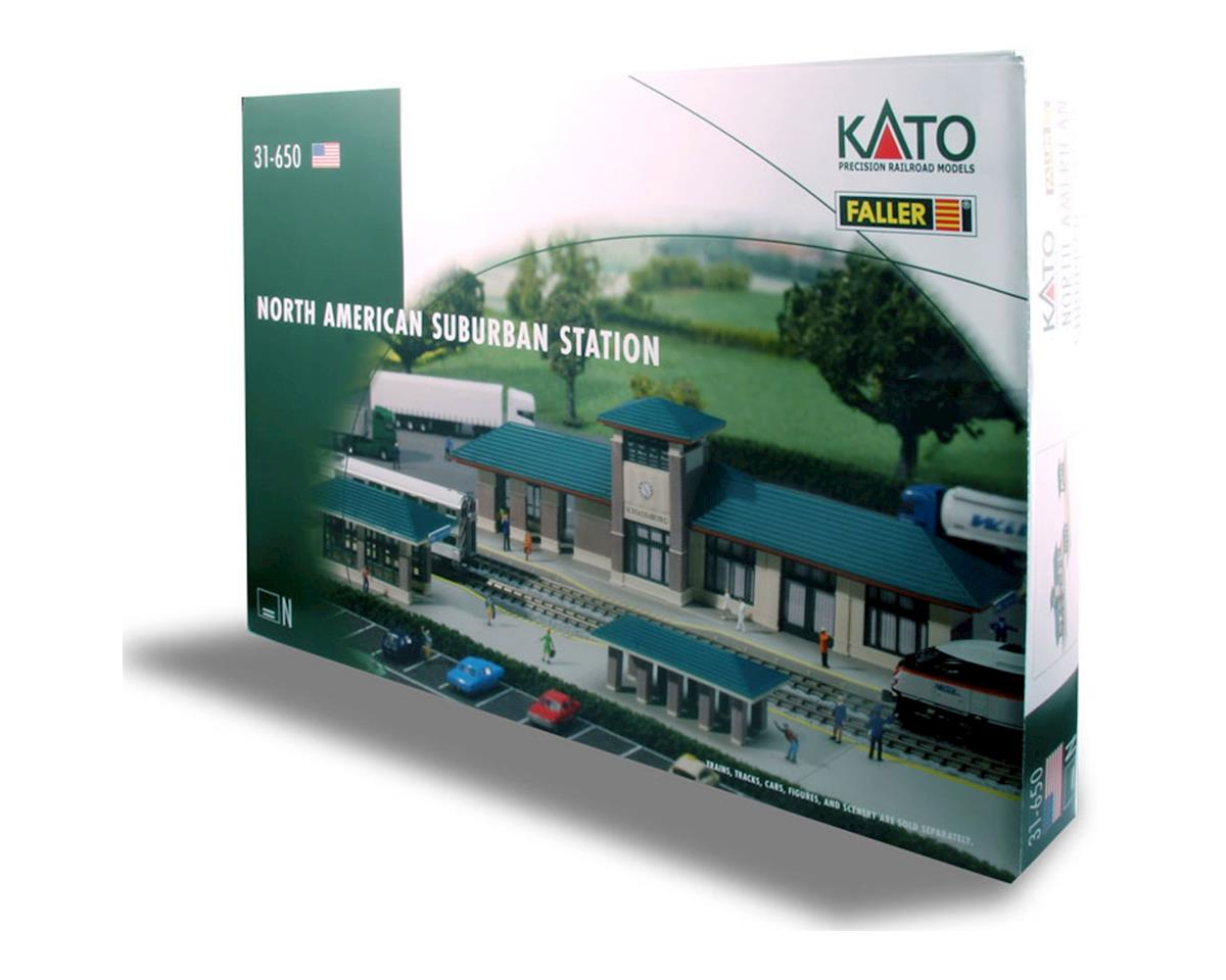 Kato N KIT North American Suburban Station [KAT31650] | Toys & Hobbies