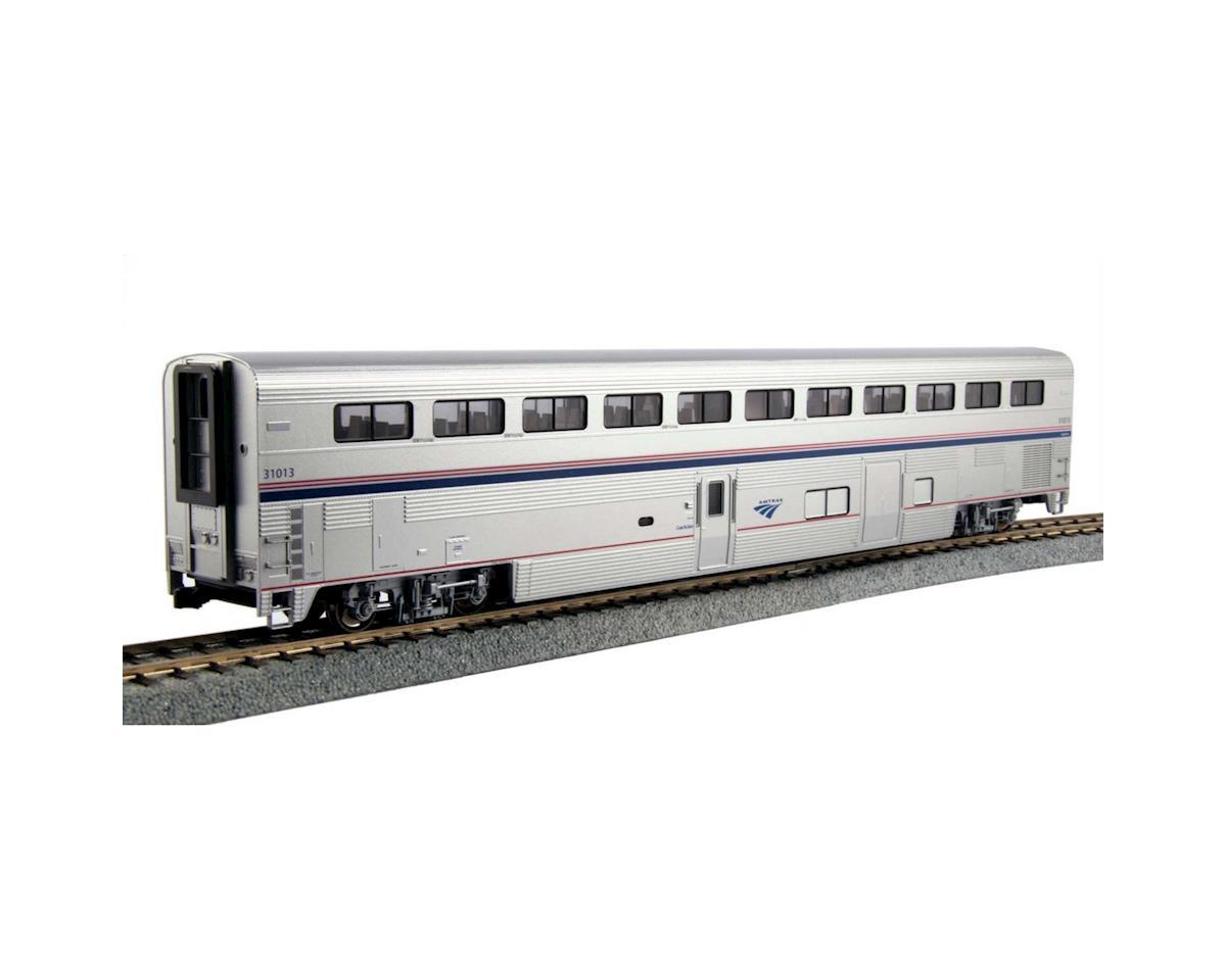 Kato HO Superliner I Coach/Baggage, Amtrak/Phase IVb